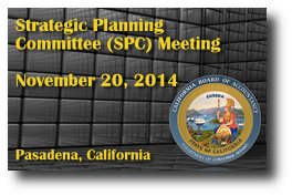 Strategic Planning Committee (SPC) Meeting - November 20, 2014