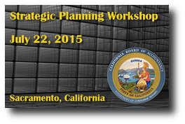 CBA Strategic Planning Workshop - July 22, 2015