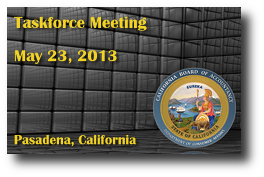 Taskforce Meeting - May 23, 2013