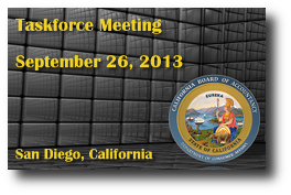 Taskforce Meeting - September 26, 2013
